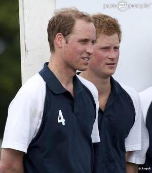 10 Juillet 2010 _ William et Harry pour the Chakravarty Cup au Beaufort Polo Club.