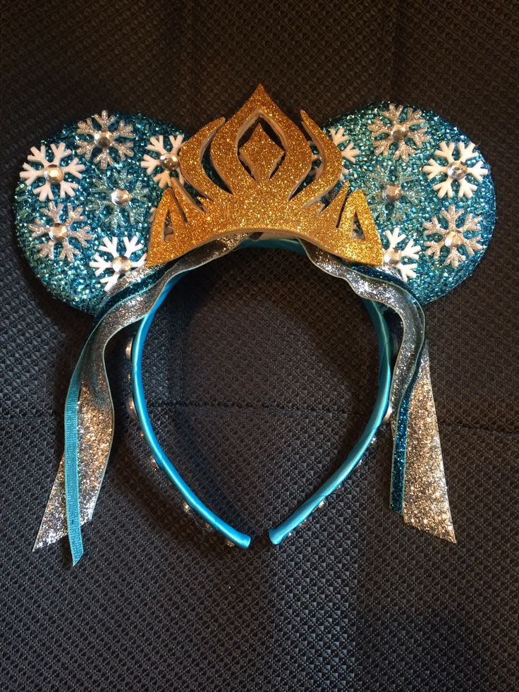 Frozen - Elsa Minnie Mouse Ears