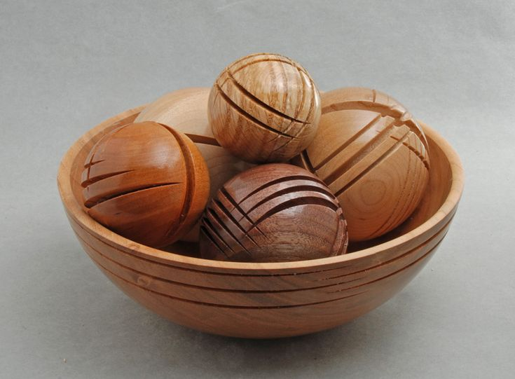 Decorative Balls For Bowls Australia 79 Best Turned Wood  Boxes Ornaments Miscimages On Pinterest
