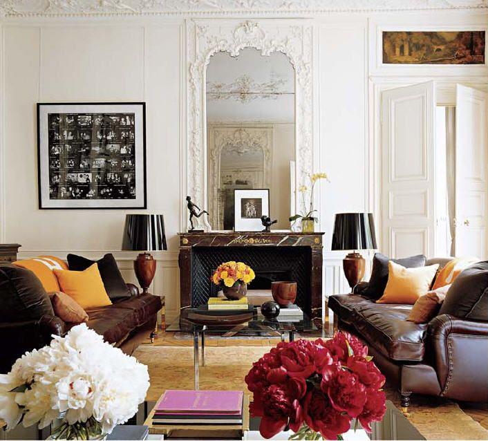 Attractive My Paris Apartment, Elle Decor, Sept.
