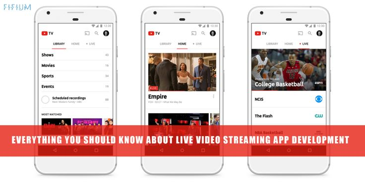 Ever heard of live #video  #streaming  apps? Read this #blog  ahead, and discover everything about live video streaming apps, with FIFIUM.
