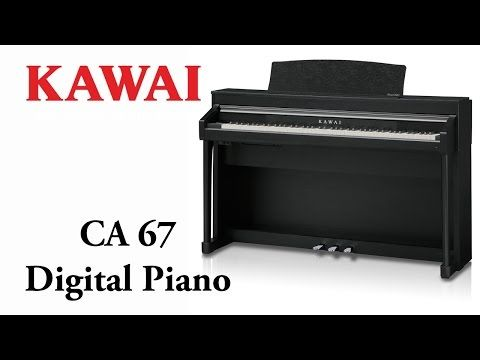 Kawai CA-67 B Digitalpiano Schwarz Matt - SPARPAKET | Bauer-Music