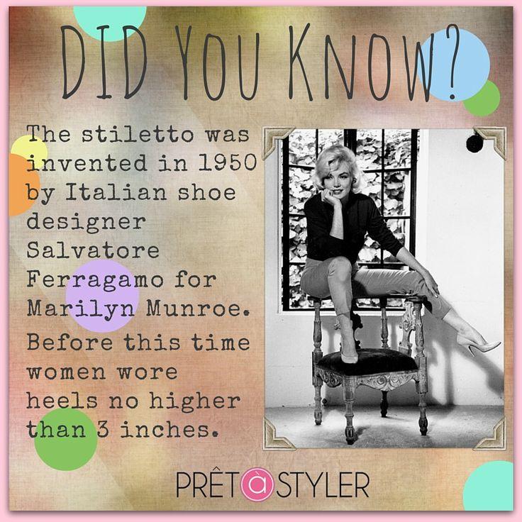 #fashionhistory #annreinten #pretastyler #myprivatestylist #stilettos