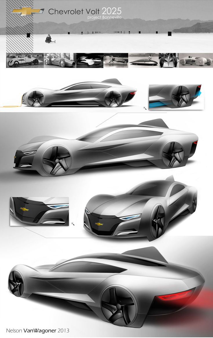 a fun 2025 Chevrolet Volt Concept by Nelson VanWagoner - Design Board