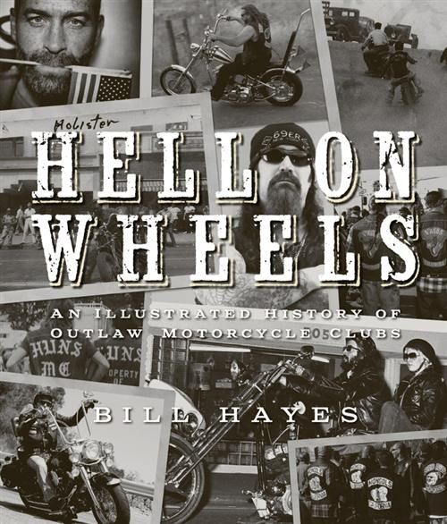 "BIKERNET BOOK OF THE WEEK CLUB--The first is Bill Hayes' latest book HELL ON WHEELS. We have had some great feedback. One reviewer said yesterday:  ""NO SELF RESPECTING BIKER WOULD BE CAUGHT DEAD WITHOUT ITs KNOWLEDGE""!!! ~ ^  ~ IMAGE RESOURCE: http://www.bikernetbaggers.com/pages/SANTA_ANA_THURSDAY_NEWS_NOT_FOR_THE_FAINT_AT_HEART_May_1st_2014.aspx"