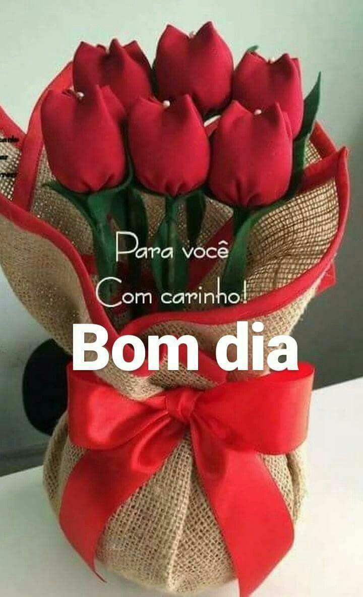 Bom Diacom Rosas é Tudo De Bom Bom Dia Rosa Frases De