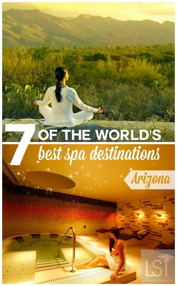 Discover some of the best spa destinations in the world for some much needed pampering from Finnish saunas to wellness centres in the Arizona desert. With spas with alpine views and Caribbean retreats, here's some of the best places in the world for your next wellness escape.