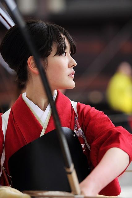 Spirit ---Kyudo Player--- by Teruhide Tomori, via Flickr
