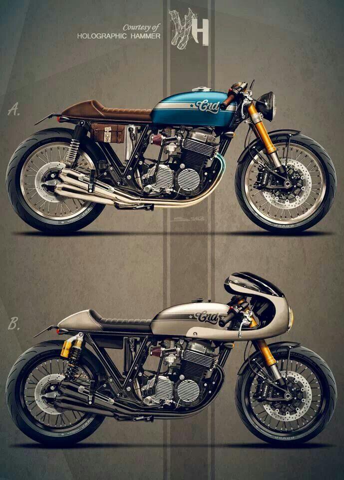 Cafe Racer Design