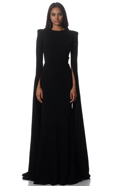 Wow look at these sleeves! Alex Perry Black Courtney Gown was $1800 and is now $540 at Ozsale. Don't miss out on this great sale!