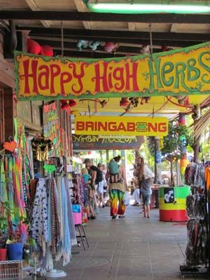 Nimbin, Australia. Is it bad that I went here as a ten-year old? haha USed to be but has been cleaned up now by vigilante locals
