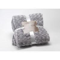 COUVERTURE - PLAID Plaid gris clair Amadeus