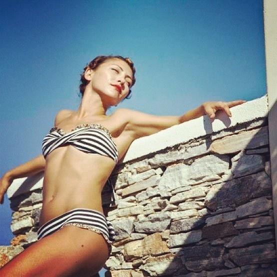 #madameshoushou #bikini #swimsuit #swimwear #bow #stripes #summer #collection #2012 #floral #girl #sun #beach #beauty #girls #happy #love #cute #sweet #lovely