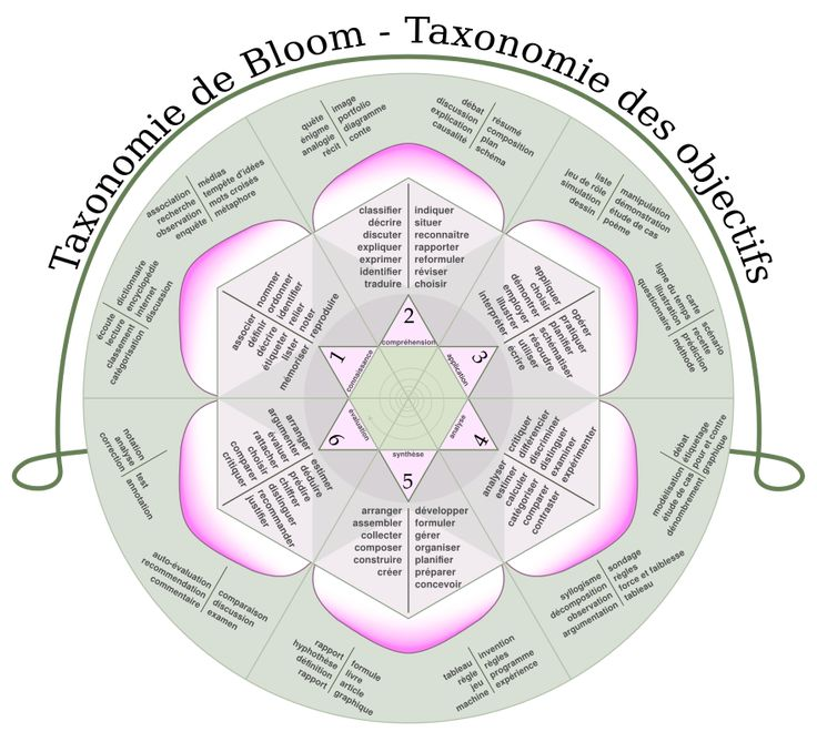 Taxonomie de Bloom — Wikipédia