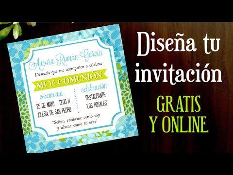 17 best ideas about como hacer una invitacion on pinterest for Hacer tarjeta cumpleanos