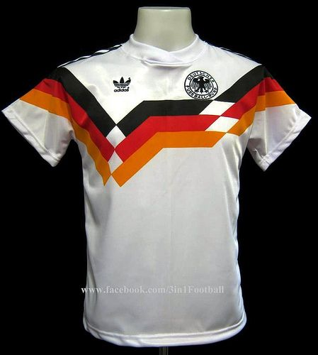 Germany 1990 Classic Football Shirts Soccer Shirts Football Outfits