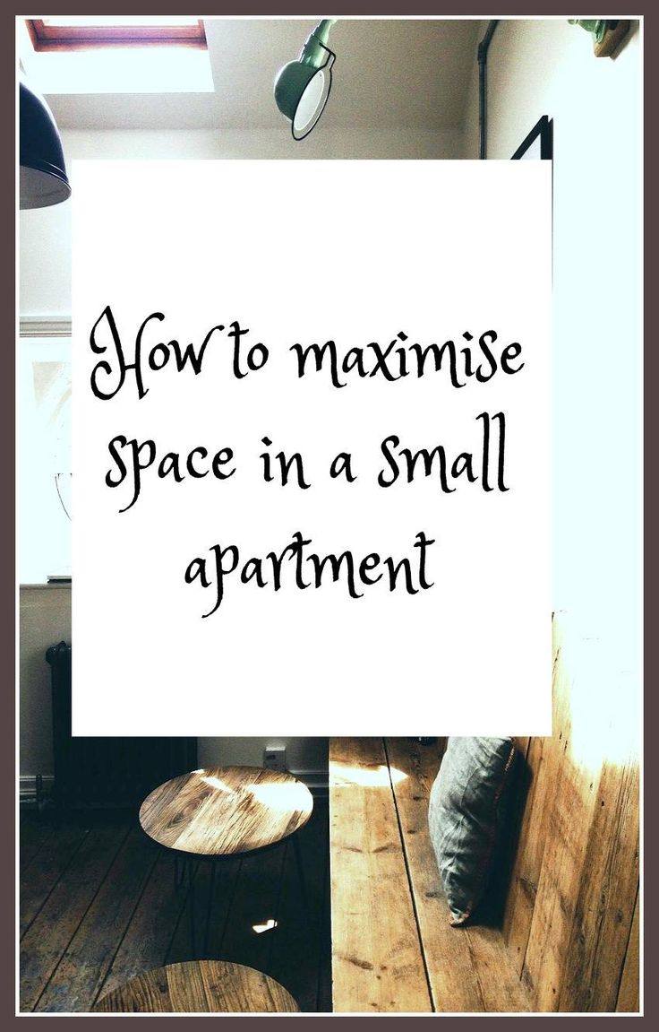 10 ways to maximise space in a small apartment - it's really important to make the very most of the space you live in particularly if you have a tiny city apartment. There are so many interior design tips and tricks you can use to really make the home of your dreams no matter how small it is