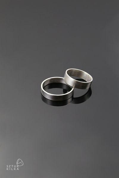 Hochzeitsringe - Silber von Sztuk Kilka Silver auf DaWanda.com