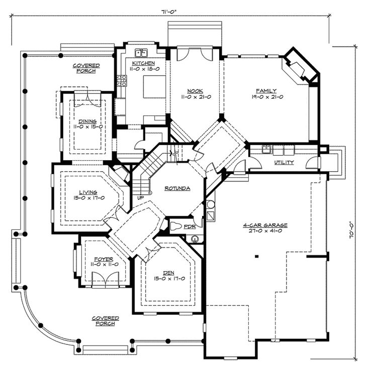 97 Best Images About Ranch Home Plans On Pinterest | House Plans