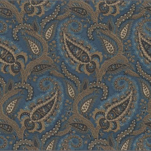 Ornate Floral Traditional Paisley Wallpaper: 537491 | Clearance Wallpaper