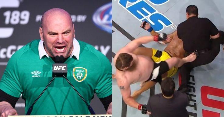 Dana White Slams Roy Nelson After Referee Kick In Brazil - http://www.lowkickmma.com/UFC/dana-white-slams-roy-nelson-after-referee-kick-in-brazil/