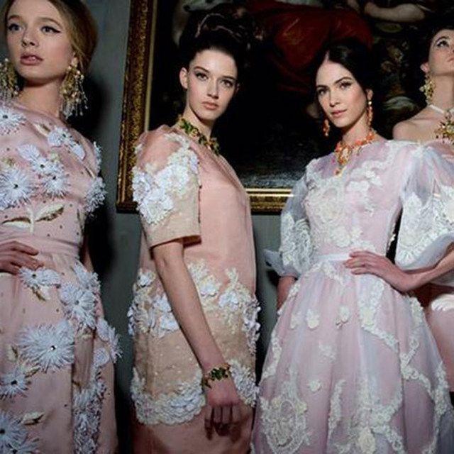 Секретный показ Dolce & Gabbana Alta Moda | Woman.ru