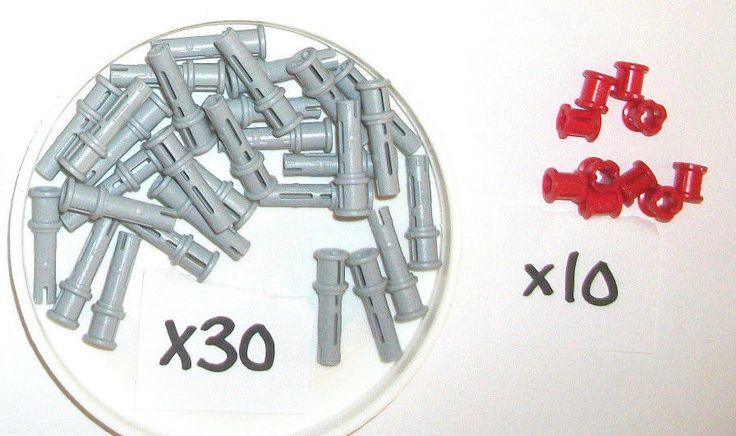 > > > $9.36 < < < #mindstorms #ebay LEGO Technic Connectors Bush Red Grey 3713 32054 4SET 42009 9396 9398 8043 8288