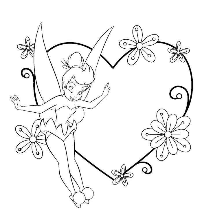 Valentines Disney Coloring Pages Best Coloring Pages For Kids Tinkerbell Coloring Pages Pirate Coloring Pages Disney Coloring Pages