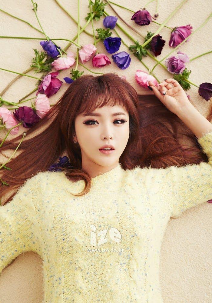 Hong Jin Young - Ize Magazine February 2014