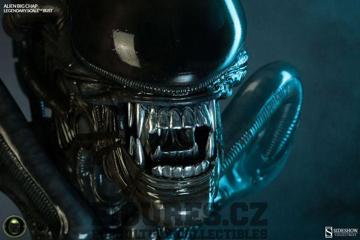 Alien Legendary Scale Bust 1/2 Big Chap 35 cm | Figures.cz