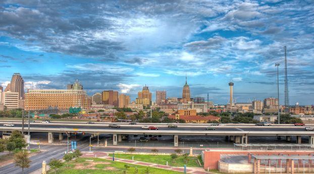 San Antonio Texas Road Wallpaper Hd City 4k Wallpapers Images Photos And Background San Antonio Texas City Wallpaper San Antonio