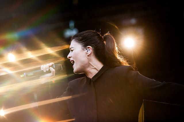 Jessie Ware by Tomi Palsa, Flow Festival 2014.