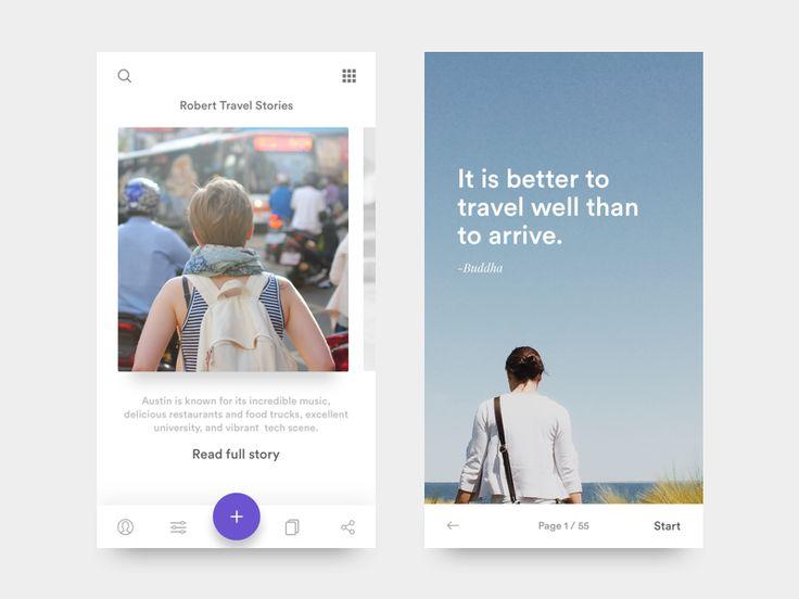 Vagary - Travel story app - iOS 🗻