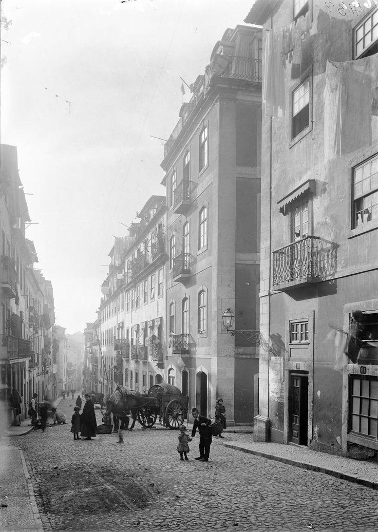 R. das Gáveas, Lisboa, 1900
