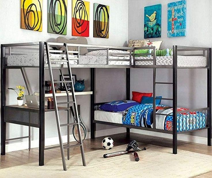 Loft Bedroomdesign: 7+ Best Rated Triple Bunk Beds In 2019 #bedroomdecor