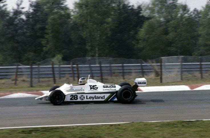 Carlos Alberto Reutemann (ARG) (Albilad-Williams Racing Team), Williams FW07B - Ford Cosworth DFV 3.0 V8 (finished 3rd)  1980 Belgian Grand Prix, Circuit Zolder  © Williams Grand Prix Engineering Ltd./S. Le Bozec | Source: Flickr