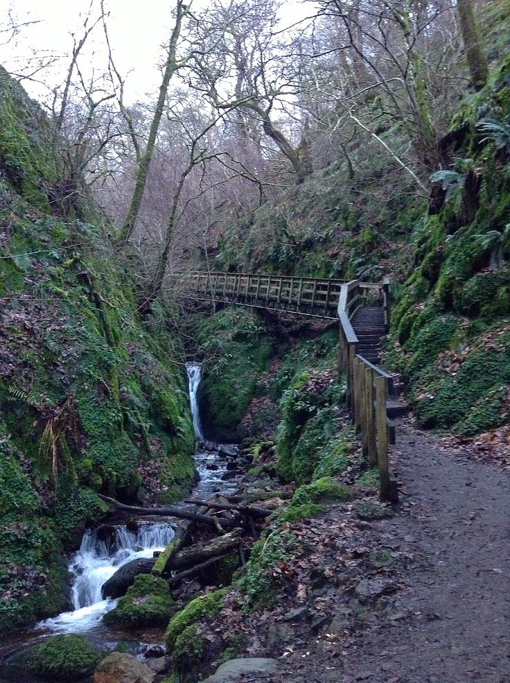 Footpath to Stirling Castle, Scotland., Scotland again, gotta hike GB some time