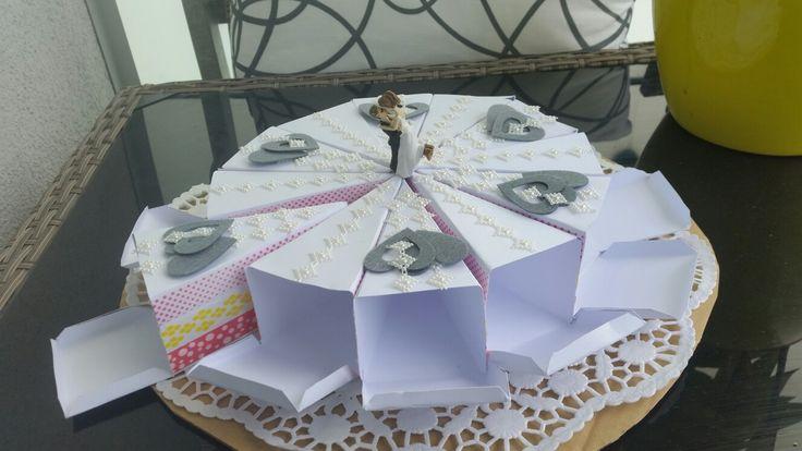 Geschenktorte zur Hochzeit Wedding present
