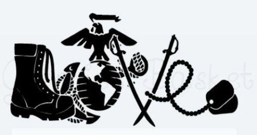 Download Marine-Love-car-decal-6inX3in | Marine mom tattoo, Marine ...