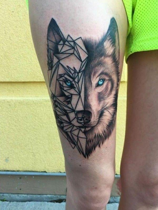 Wolf Tattoo Bedeutung Und Symbolik Tattoos Pinterest Wolf