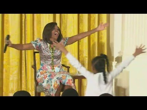 Michelle Obama Had The Best Reaction When A Little Girl Asked Her Age