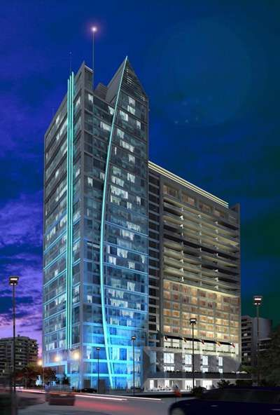 W Hotel's First South American Accomodations in Santiago #architecture