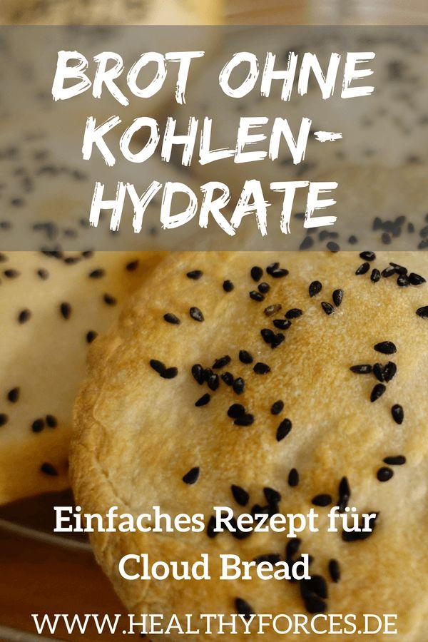 Brot ohne Kohlenhydrate: Einfaches Rezept für Wolkenbrot