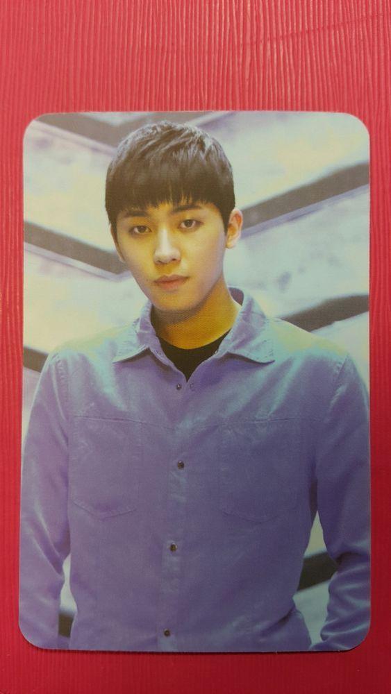 TEENTOP CHANGJO #1 Natural Born Official Photocard 6th Album Teen Top