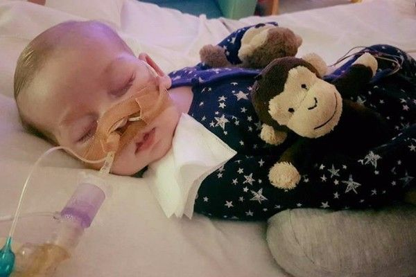 "U.S. Lawmakers introduce bill to make Charlie & his family permanent U.S. residents to help come and receive treatment. When lawmakers and doctors decide what ""life is unworthy of life"" – this is the moment our humanity itself begins to unravel..."" ~ Trent Franks"