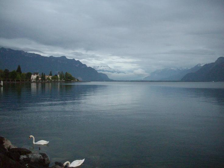 view to Avenue du Lac