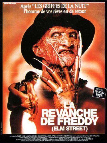 11 x 17 Nightmare on Elm Street 2: Freddys Revenge Movie Poster @ niftywarehouse.com #NiftyWarehouse #NightmareOnElmStreet #Halloween #Freddy #FreddyKrueger #Horror #HorrorMovies