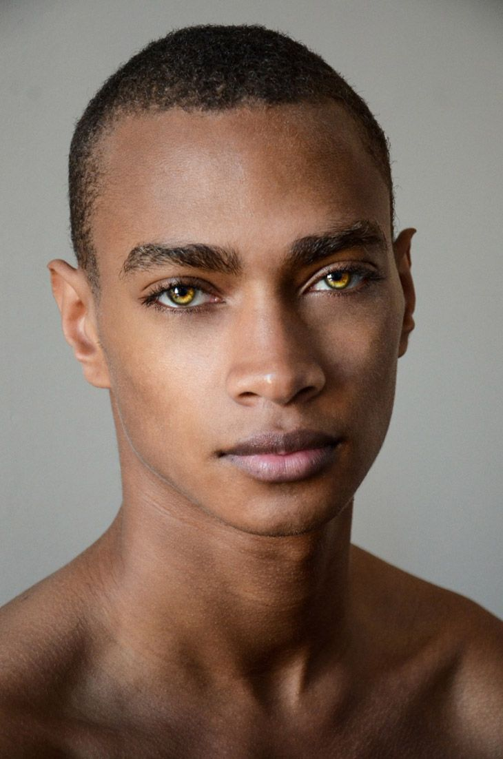 Dajé Barbour, arresting eyes
