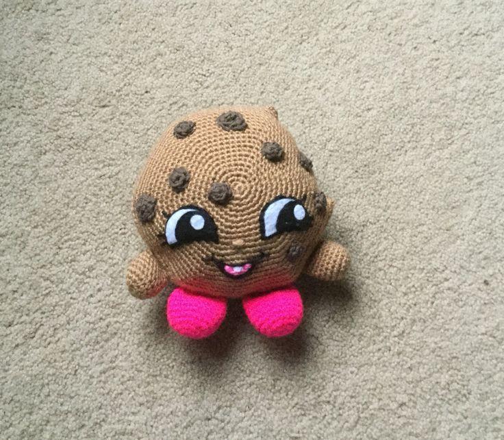Shopkins inspired crochet Kooky a cookie