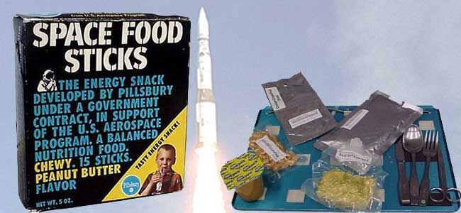 astronaut stick breakfast food 1970 - photo #14